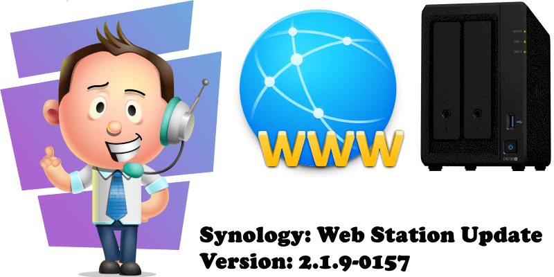 Synology Web Station Update Version 2.1.9-0157