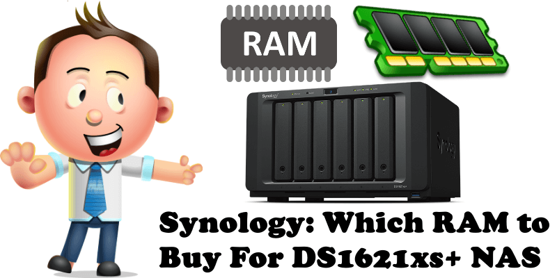 Synology Which RAM to Buy For DS1621xs+ NAS