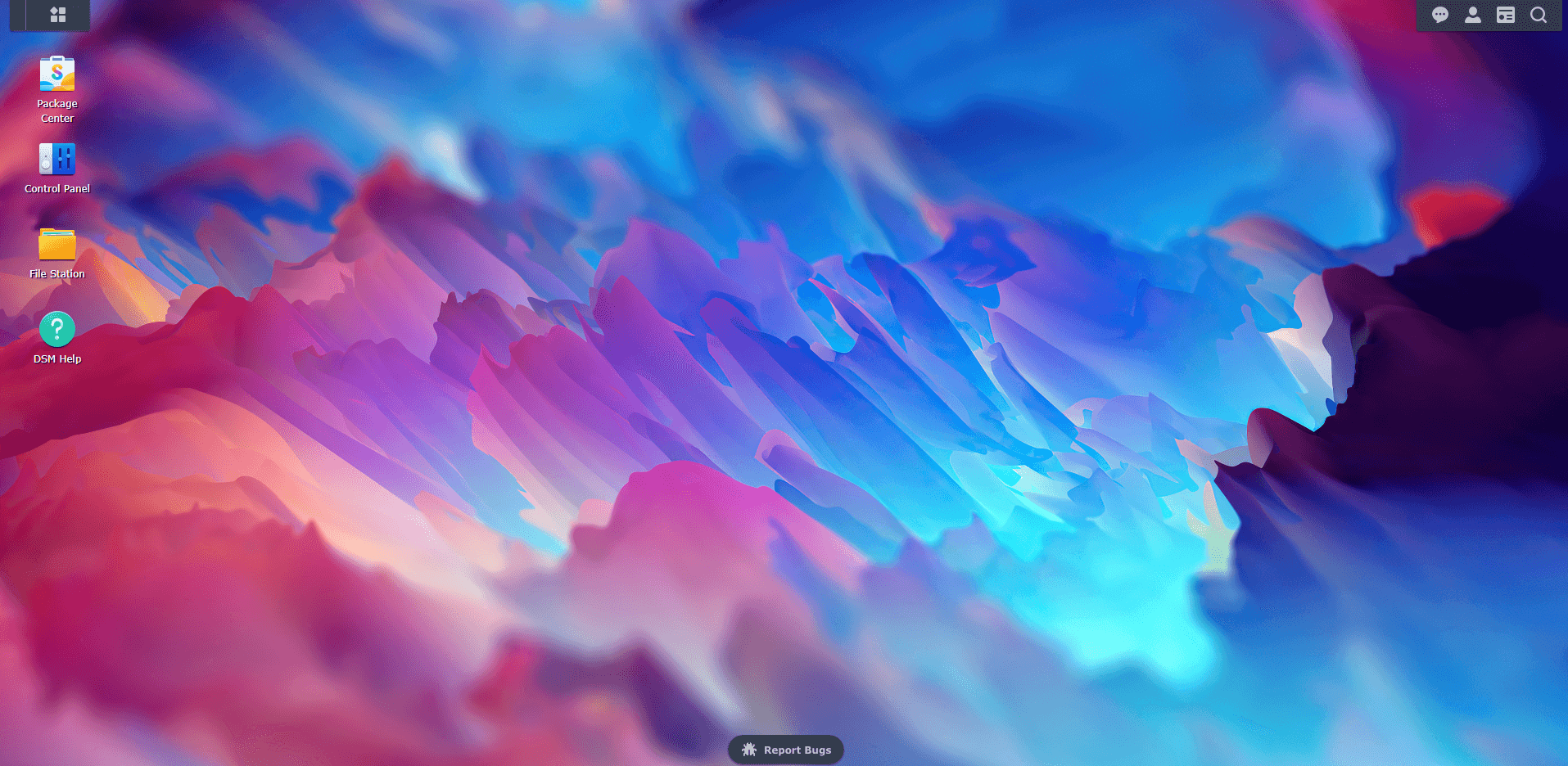 1 Synology DSM 7 abstract wallpaper