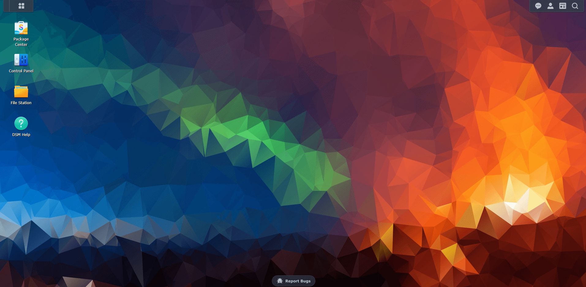 3 Synology DSM 7 abstract wallpaper