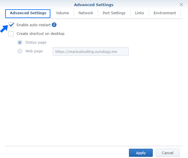 6 Synology NAS set up and install Emby Docker