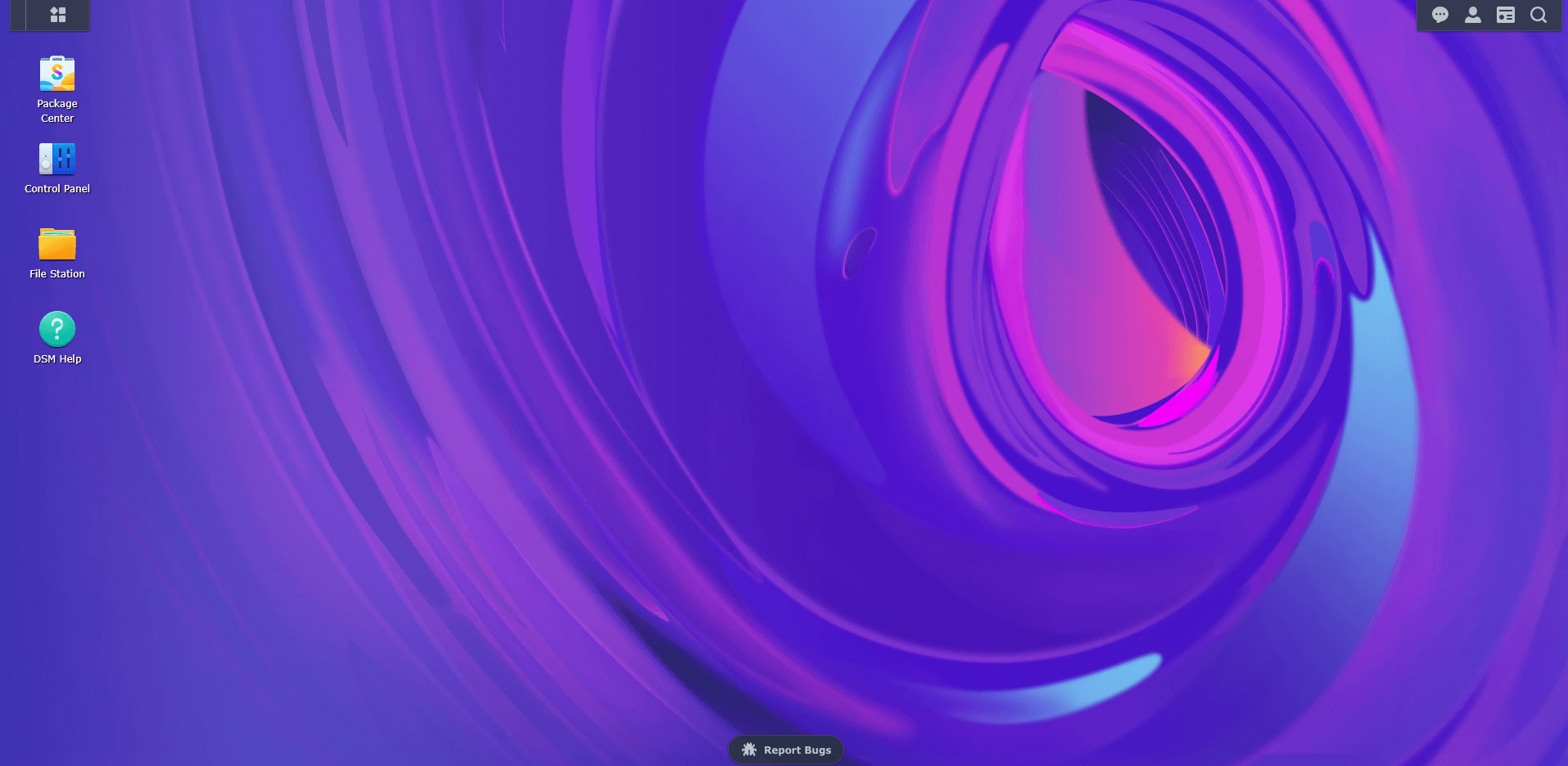 8 Synology DSM 7 abstract wallpaper