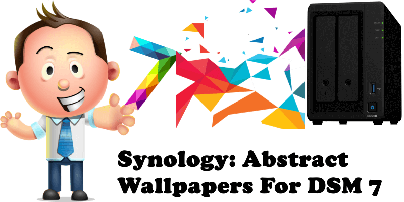 Synology Abstract Wallpapers For DSM 7