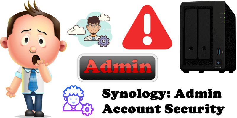 Synology Admin Account Security