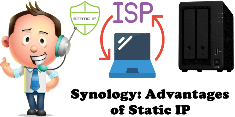 Synology Advantages of Static IP