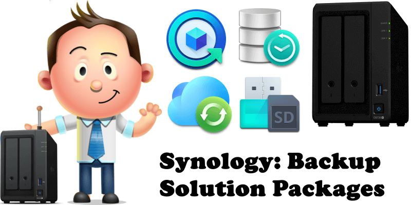 Synology Backup Solution Packages