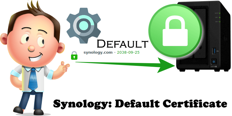 Synology Default Certificate