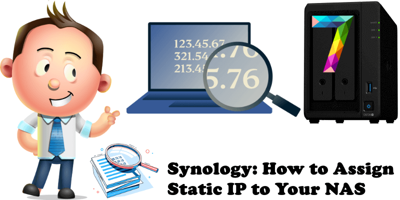 Synology How to Assign Static IP to Your NAS