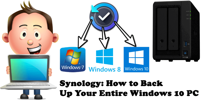 Synology How to Back Up Your Entire Windows 10 PC
