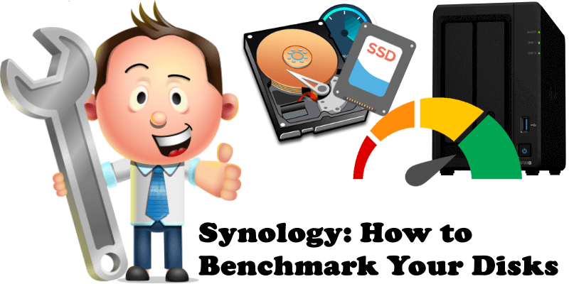 Synology How to Benchmark Your Disks