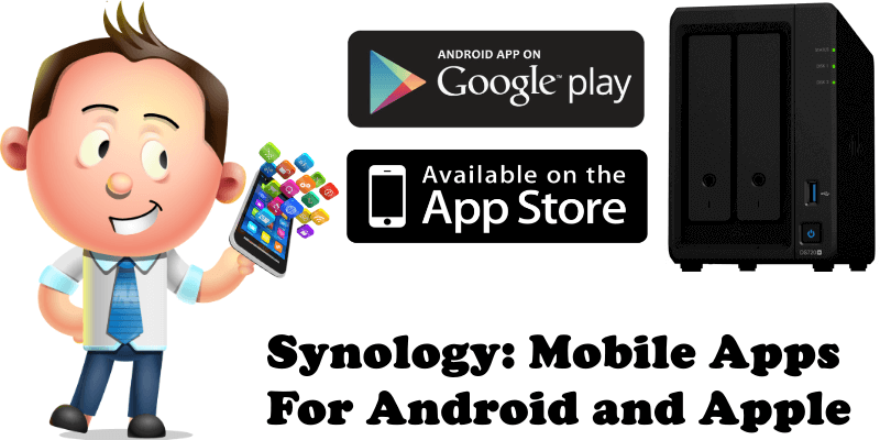 Synology Mobile Apps For Android and Apple