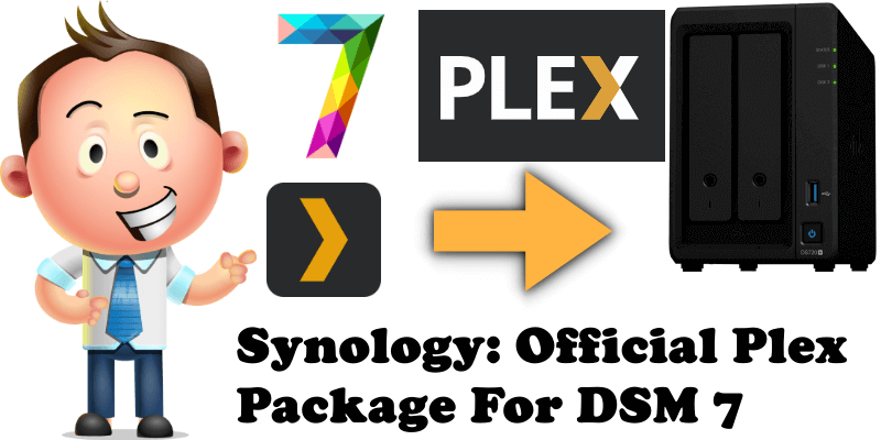 Synology Official Plex Package For DSM 7