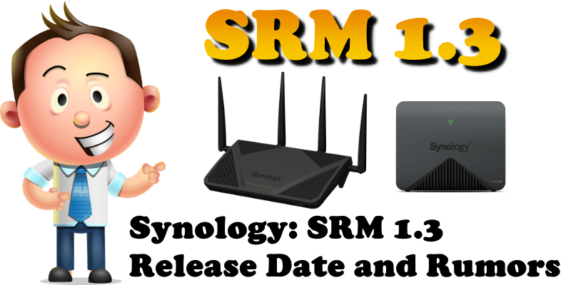 Synology SRM 1.3 Release Date and Rumors