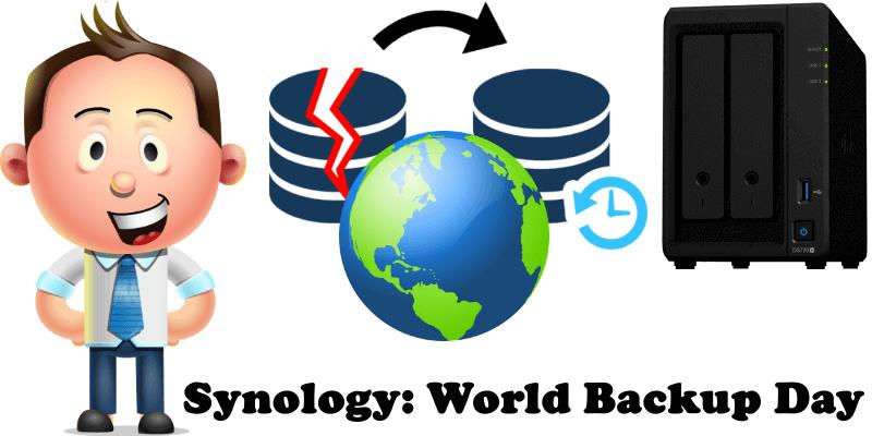 Synology World Backup Day