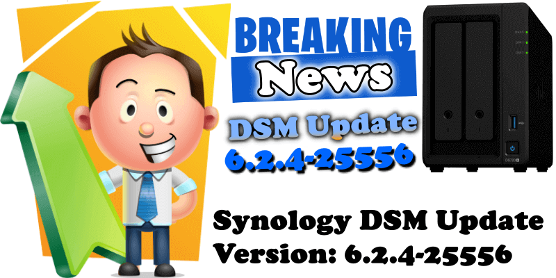 Synology new DSM Update Version 6.2.4-25556