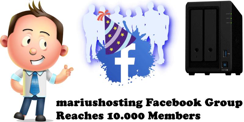 mariushosting Facebook Group Reaches 10.000 Members