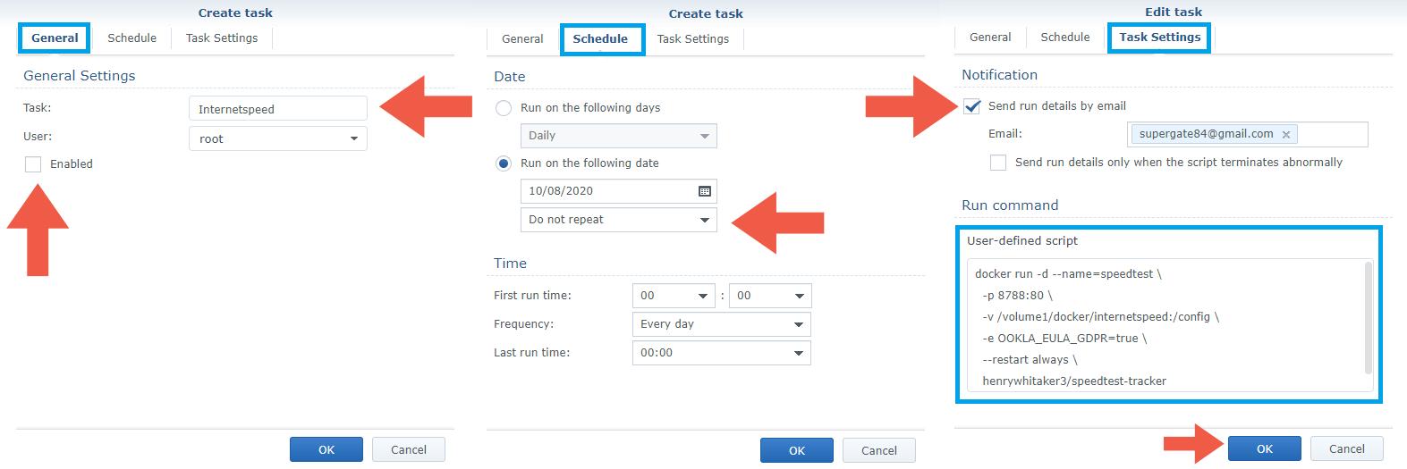 4 Install Speedtest Tracker Docker Synology NAS