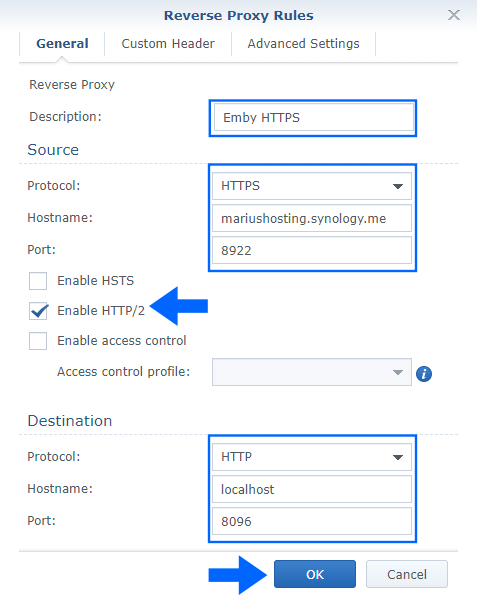 8 Synology NAS Emby without docker