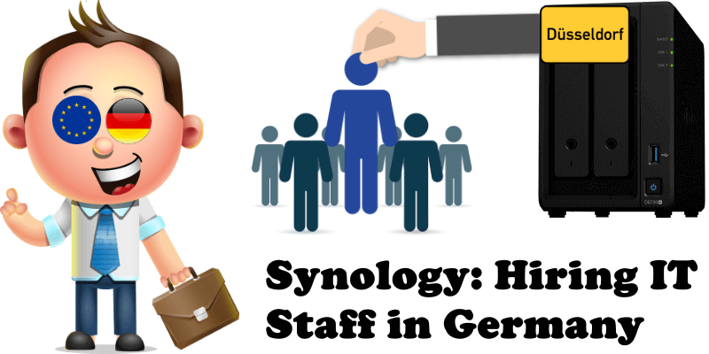 Synology Hiring IT Staff in Germany