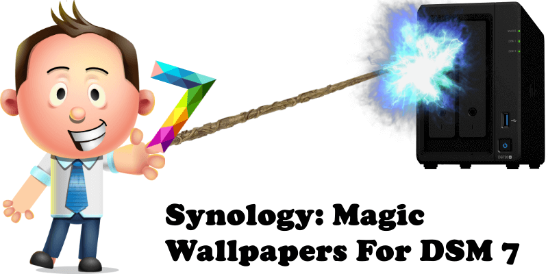 Synology Magic Wallpapers For DSM 7