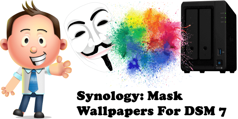 Synology Mask Wallpapers For DSM 7