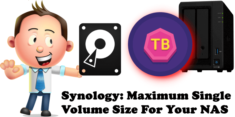 Synology Maximum Single Volume Size For Your NAS