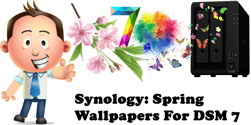 Synology Spring Wallpapers For DSM 7
