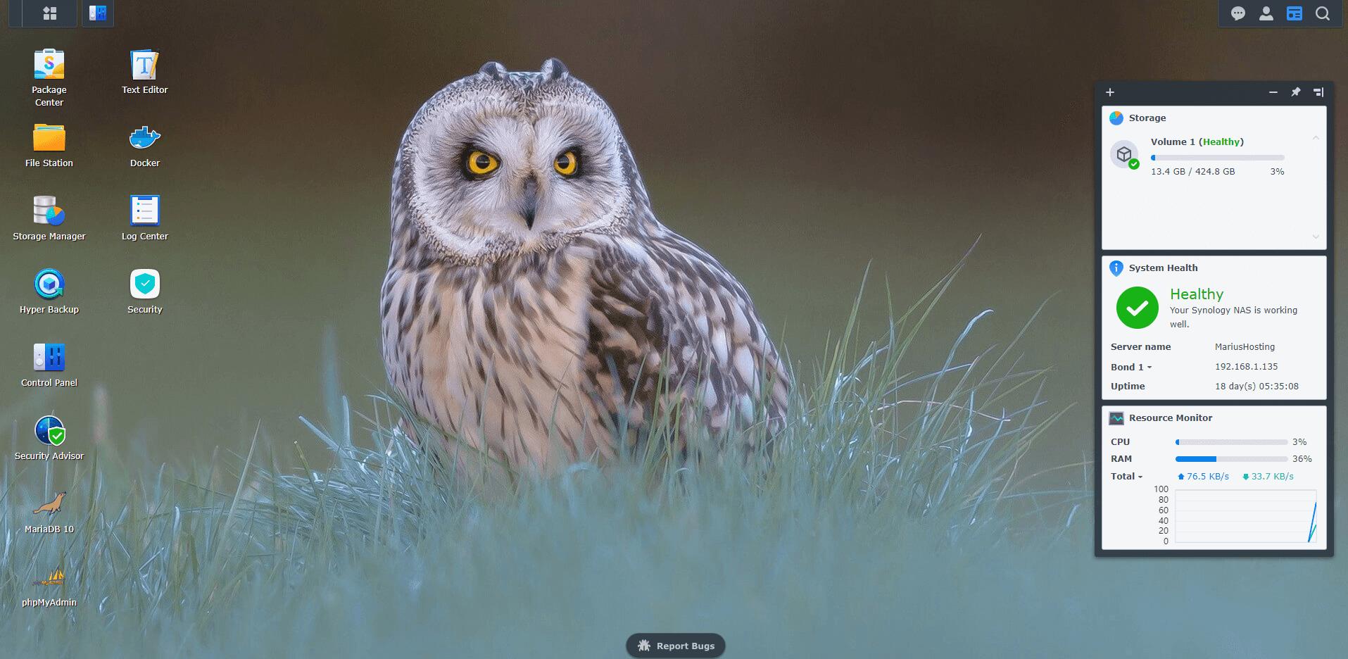11 Synology Owl Wallpaper