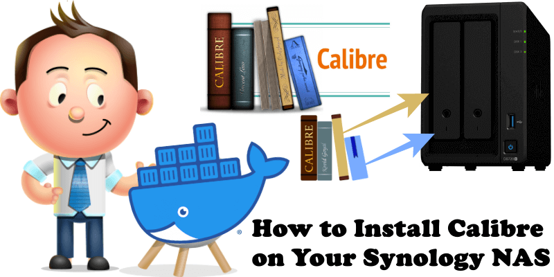 How to Install Calibre on Your Synology NAS