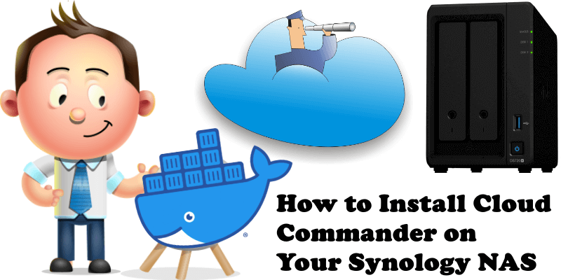 How to Install Cloud Commander on Your Synology NAS