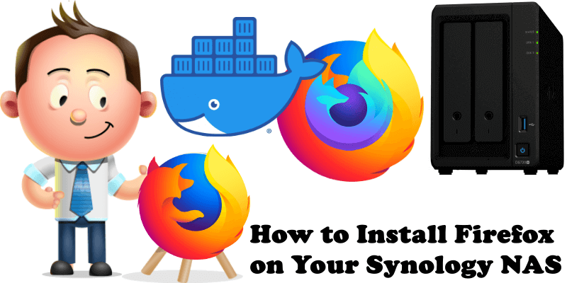 How to Install Firefox on Your Synology NAS