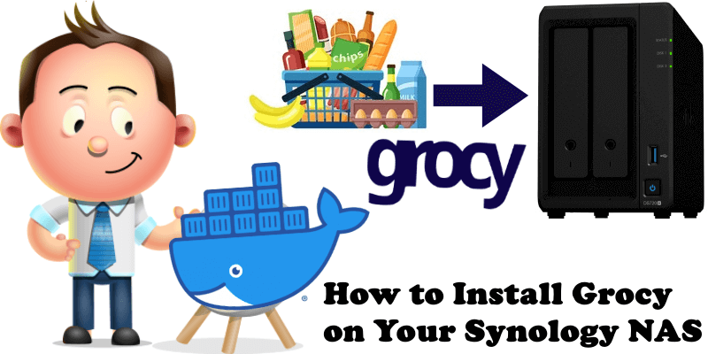 How to Install Grocy on Your Synology NAS