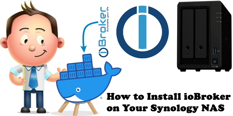 How to Install ioBroker on Your Synology NAS