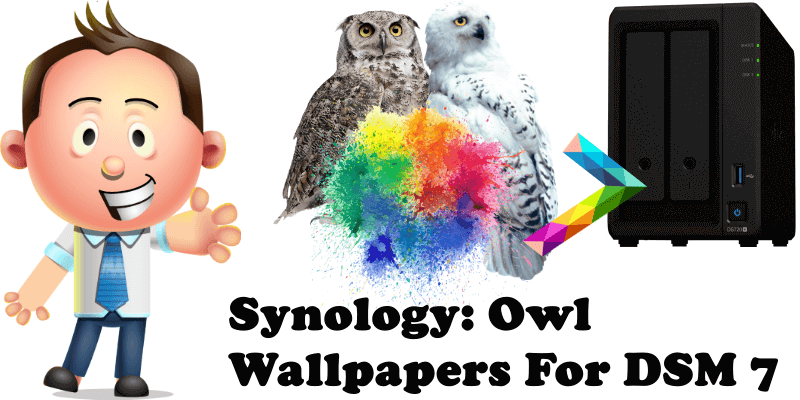 Synology Owl Wallpapers For DSM 7