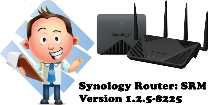 Synology Router SRM Version 1.2.5-8225