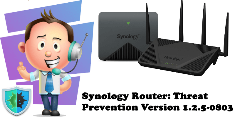 Synology Router Threat Prevention Version 1.2.5-0803