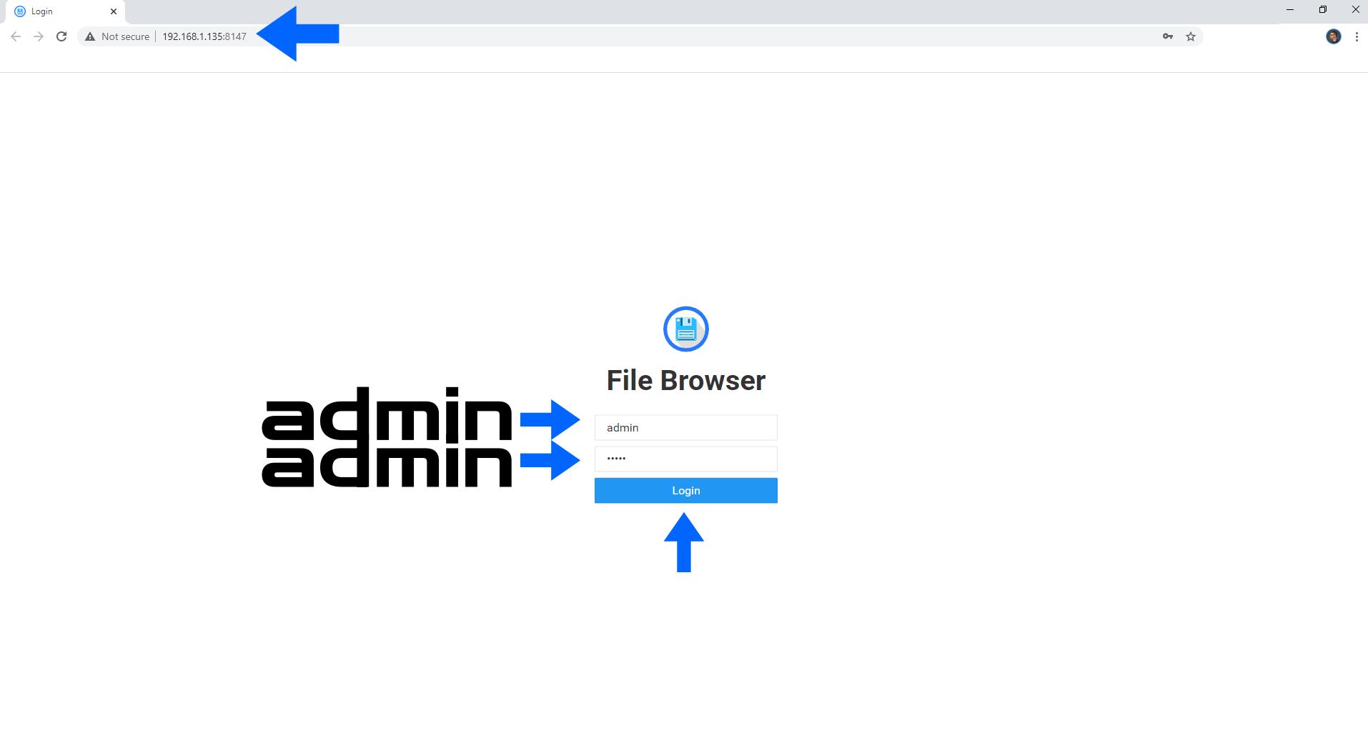 File Browser Synology NAS Set up 8