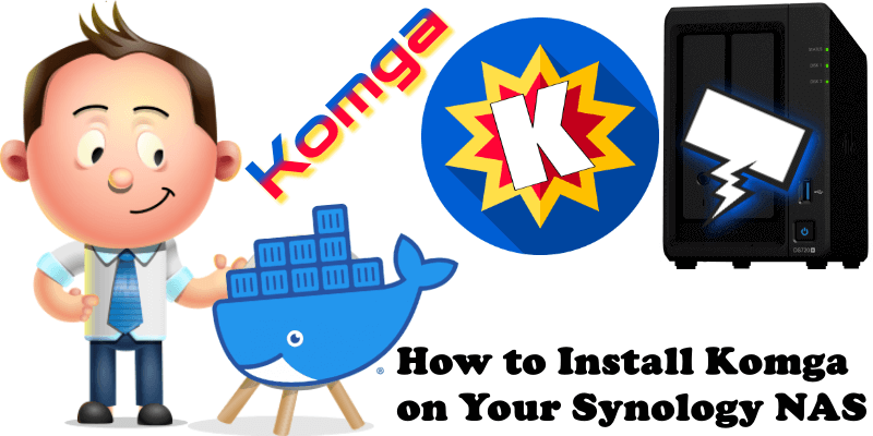 How to Install Komga on Your Synology NAS