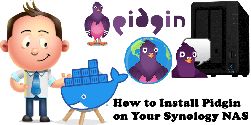 How to Install Pidgin on Your Synology NAS