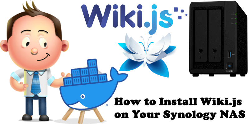 How to Install Wiki.js on Your Synology NAS