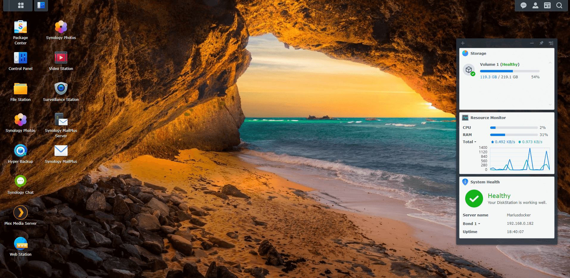 Synology Cave Wallpapers For DSM 7 2