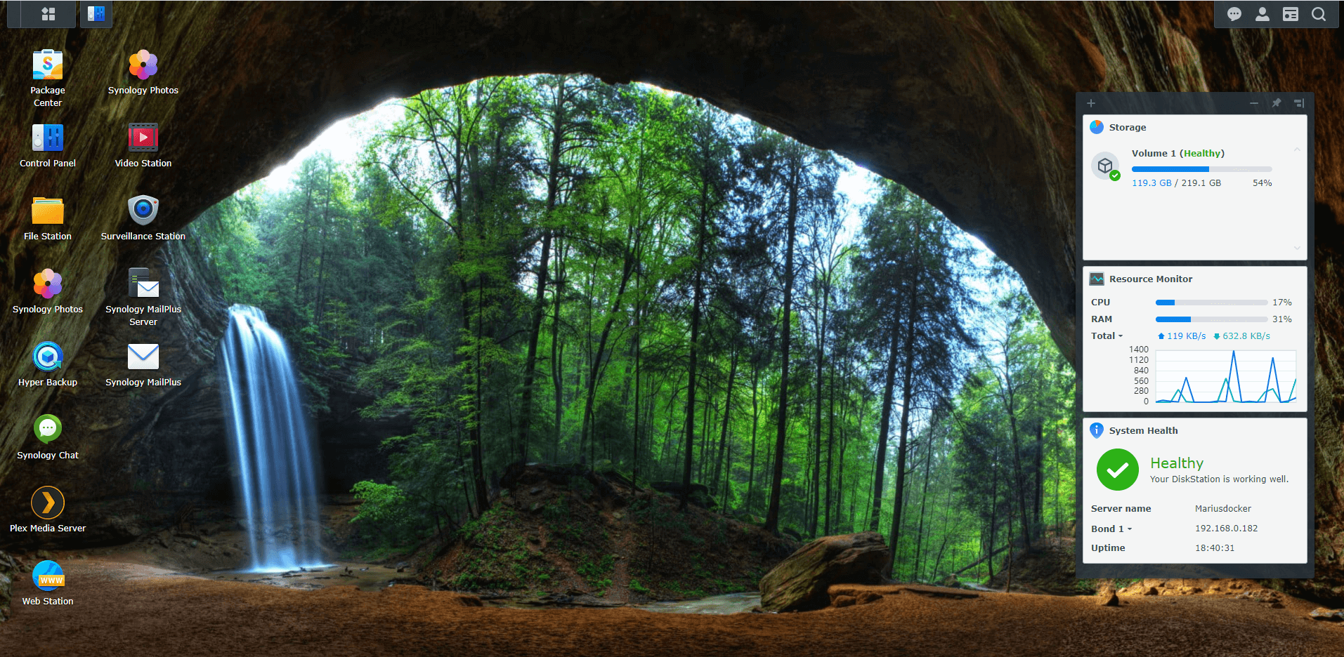 Synology Cave Wallpapers For DSM 7 5