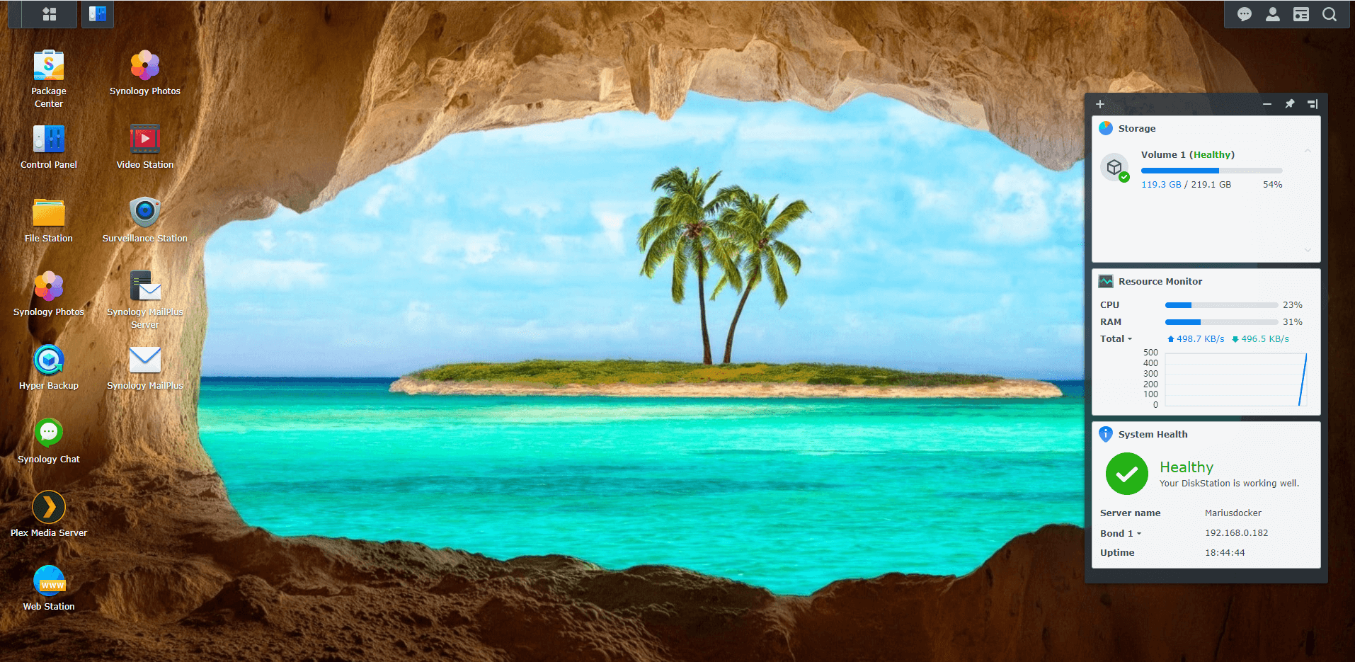 Synology Cave Wallpapers For DSM 7 8
