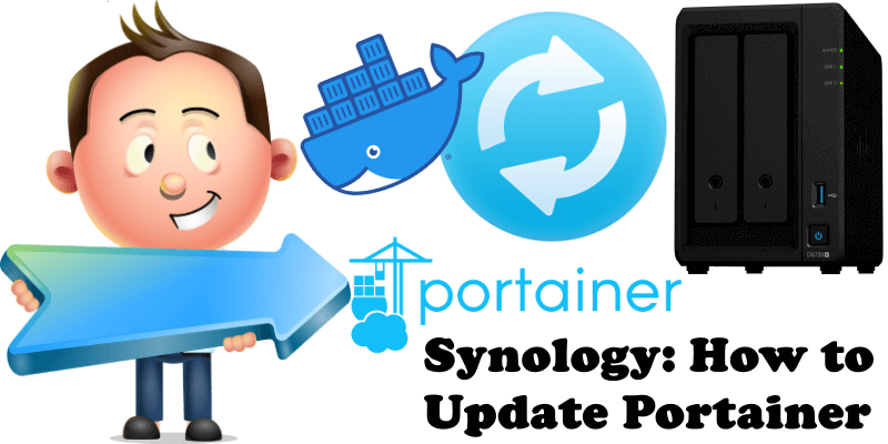 Synology How to Update Portainer