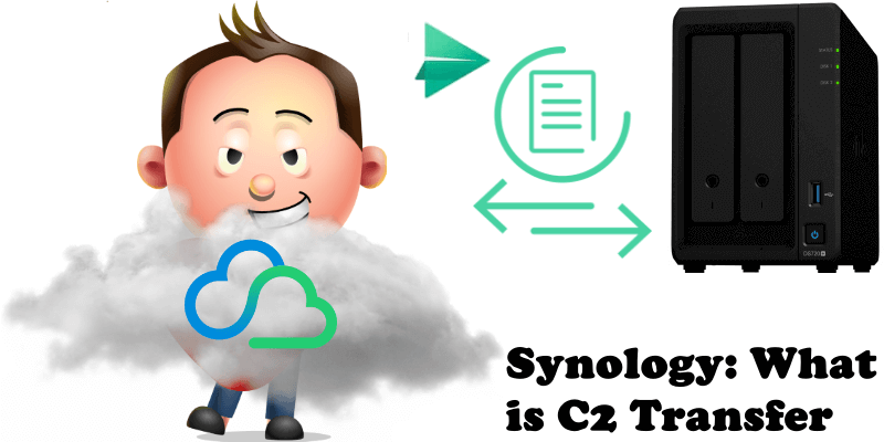 Synology What is C2 Transfer