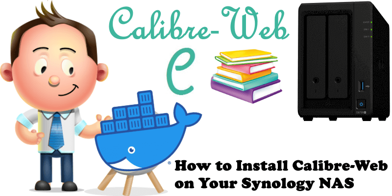 How to Install Calibre-Web on Your Synology NAS