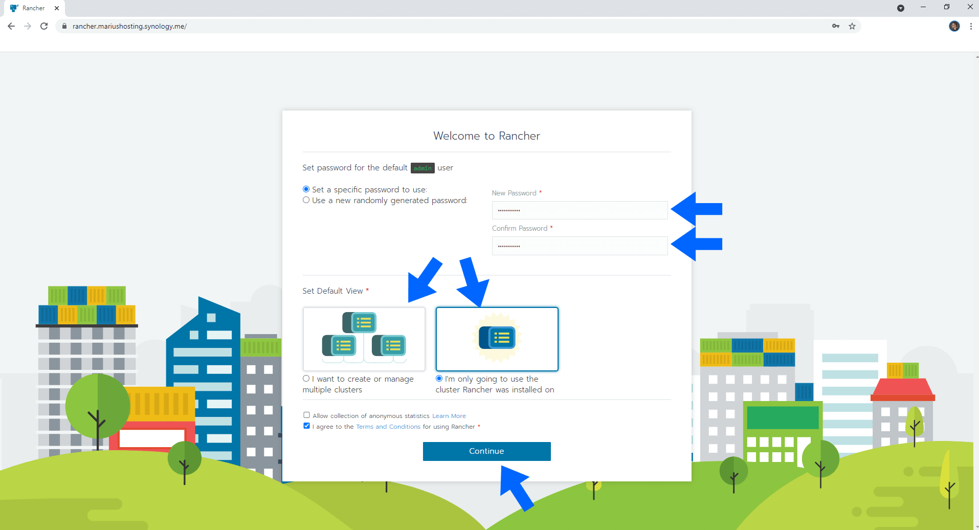 Rancher Synology NAS Set up 9