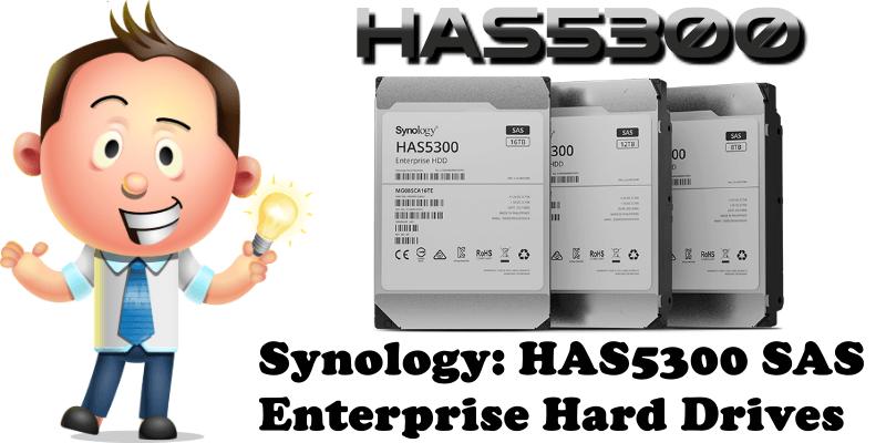 Synology HAS5300 SAS Enterprise Hard Drives