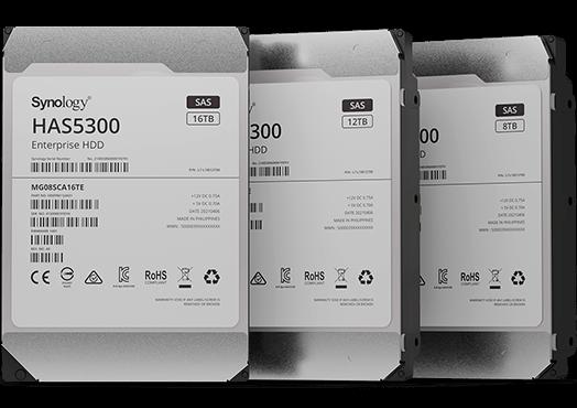 Synology HAS5300 SAS disks
