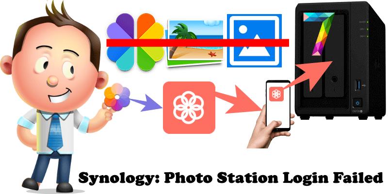 Synology Photo Station Login Failed